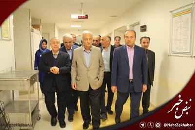 رییس کمیسیون بهداشت و درمان مجلس شورای اسلامی از بیمارستان های شفا و پارس بازدید کرد
