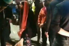 درگیری یک شهروند با مامور شهرداری صومعه سرا در حاشیه جمع آوری سگهای ولگرد