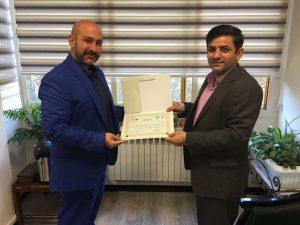 دکتر محمد عشقی رییس دبیرخانه ورزش شهرداری های کشور شد.