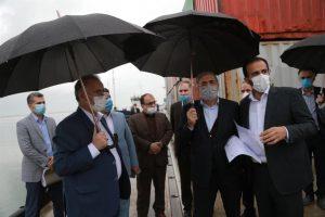 بازدید مشاور رییس جمهور از طرح های توسعه ای منطقه آزاد انزلی