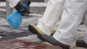 نکاتی برای ضدعفونی کفشها