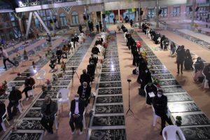 برگزاری مراسم عزاداری به مناسبت ایام شهادت حضرت فاطمه زهرا (س) و یاد و خاطره  شهید حاج قاسم سلیمانی