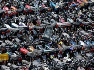 موتورسیکلت رسوبی در گیلان