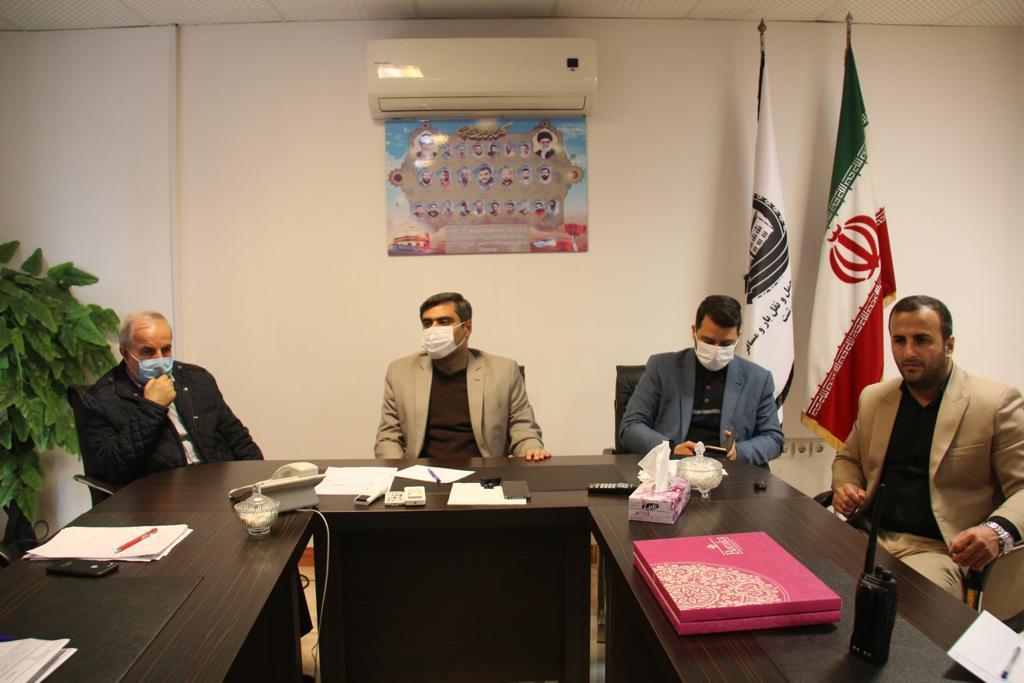 بازدید جبار کوچکی نژاد از سازمان مدیریت حمل و نقل بار و مسافر شهرداری رشت