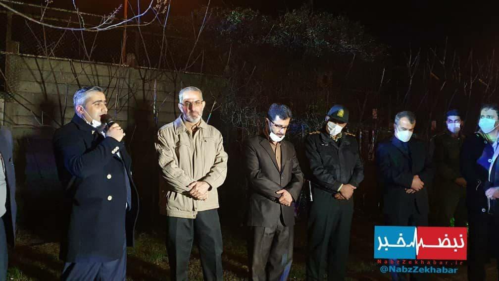 جشن انقلاب در آرش مال منطقه آزادانزلی
