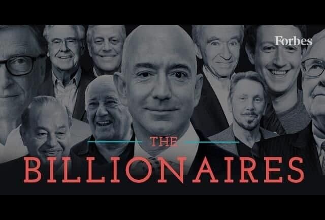 بهروزرسانی فهرست ثروتمندان جهان