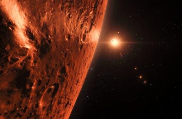 یک دنیای بیگانه ۴.۵ میلیارد سال پیش درون سیاره ما جا گرفته است!