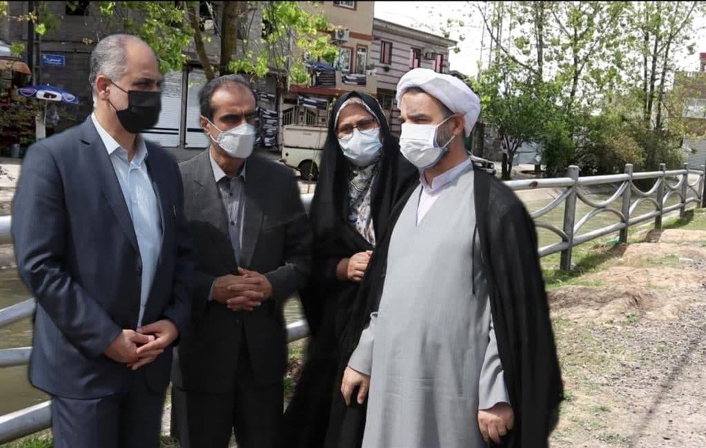 وعده دیگری که جامه عمل پوشید؛ بکارگیری بهینه نرده های جمع آوری شده از بلوار امام خمینی (ره) رشت در نقاط پر مخاطره رشت