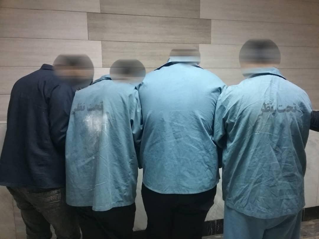 دستگیری عاملان درگیری شب گذشته تالش