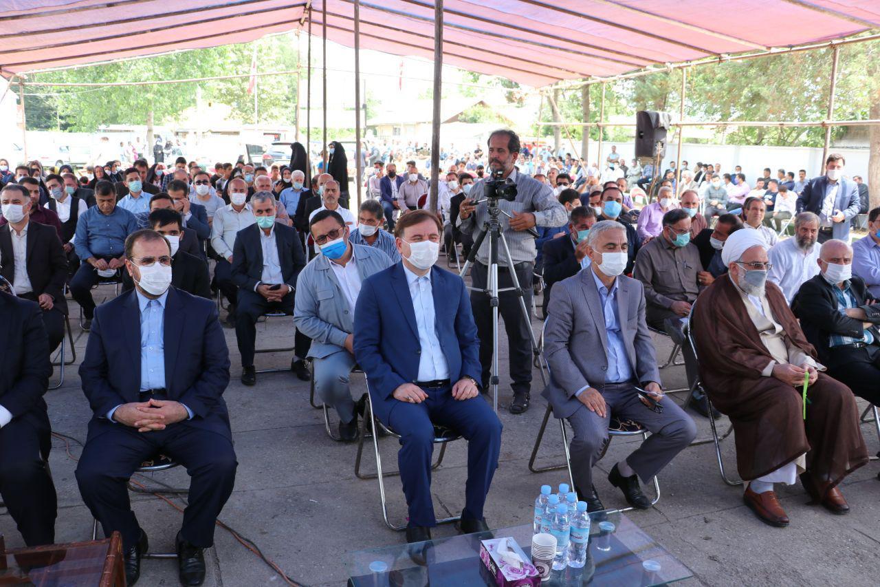 افتتاح بخشداریهای طاهرگوراب و ضیابر