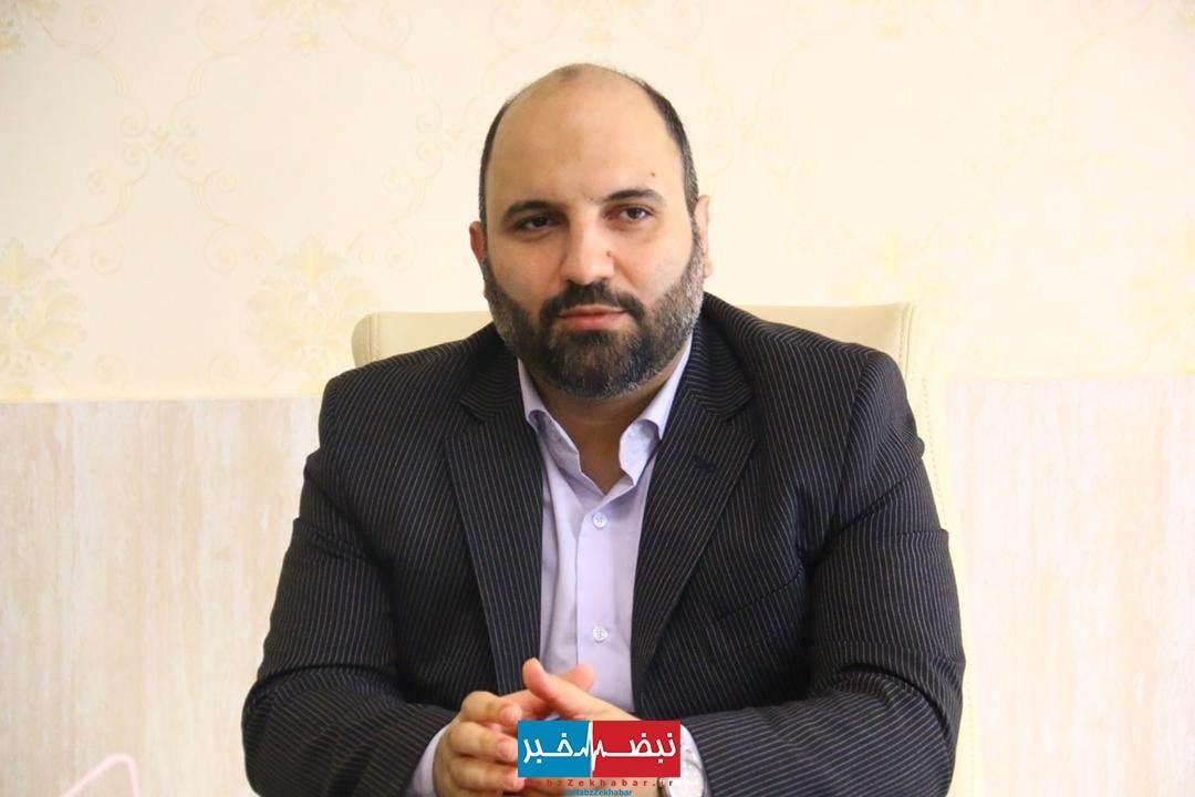 رضا عاشری شهردار سابق منطقه پنج