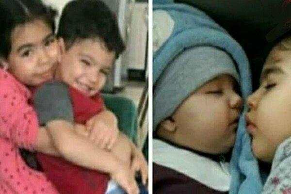 مرگ دو کودک گیلانی