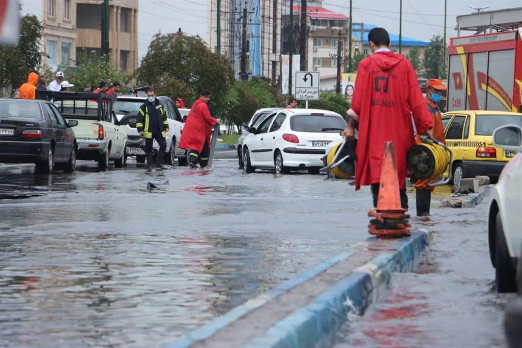 آماده باش کامل مدیریت شهری در پی بی سابقه ترین بارش باران
