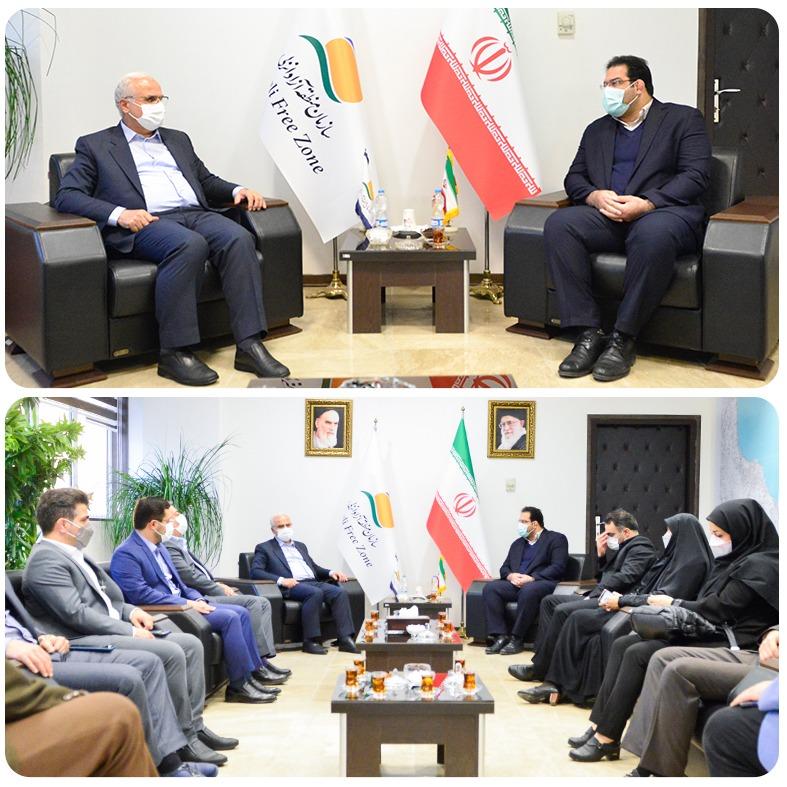 در دیدار رئیس فدراسیون ورزش های سه گانه با مدیرعامل سازمان منطقه آزاد انزلی مطرح شد