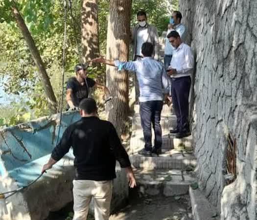 مسیر استفاده از آب چشمه شیرین سو مسدود شد
